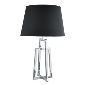 Claw Touch Table Lamp, Chrome, Smokey